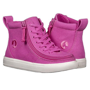 PRE ORDER Kid's Pink Raspberry Billy Classic High Top