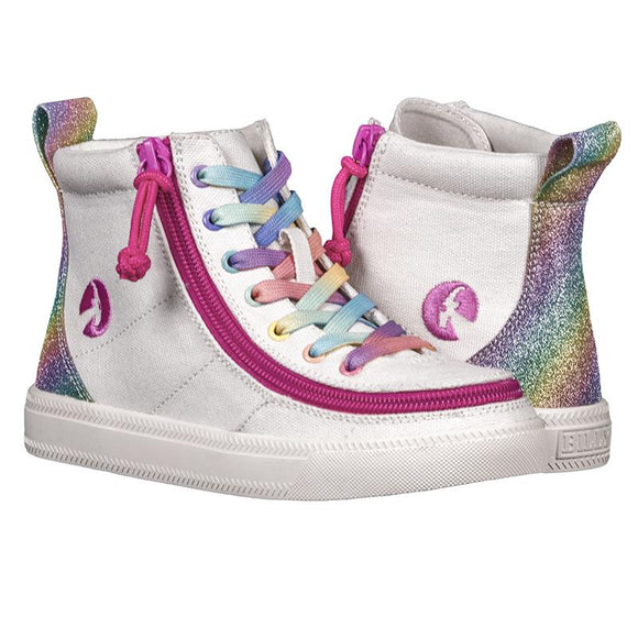 Kid's Rainbow BILLY Classic Lace High