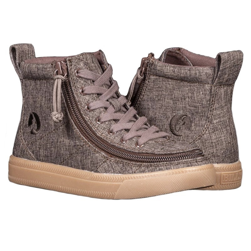 Kid's Brown Jersey BILLY Classic Lace High