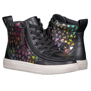 Kid's Black Hearts High Top