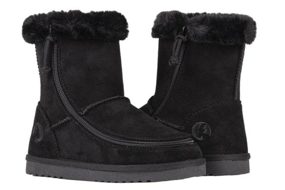 Kid's Black Billy Cozy Boots