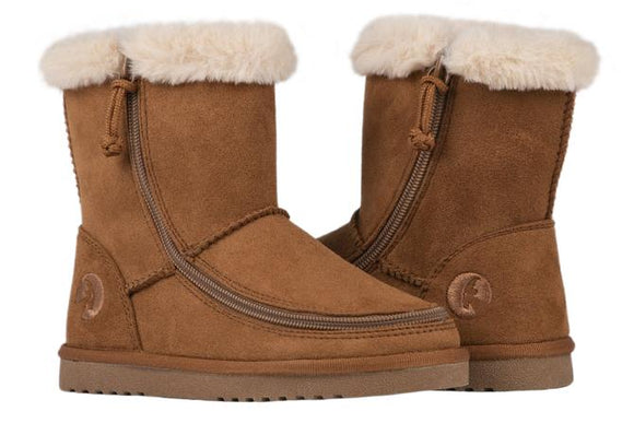 Kid's Chestnut Billy Cozy Boots