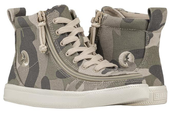 Kid's Natural Camo BILLY Classic Lace High