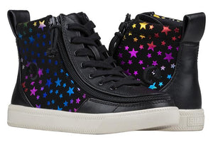 Kid's Black Stars Billy High Top