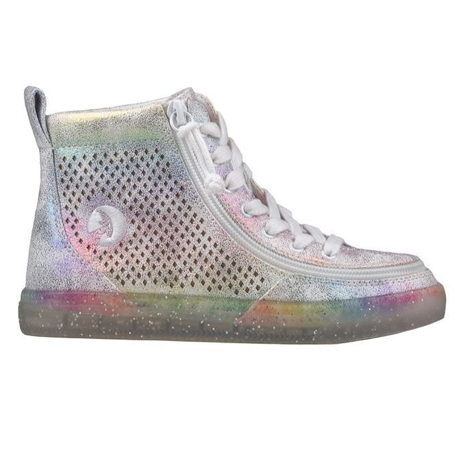 Toddler Rainbow Crackle BILLY Classic Lace High