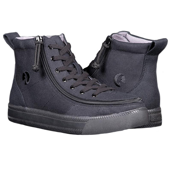 Men's Black to the Floor BILLY Classic Lace High
