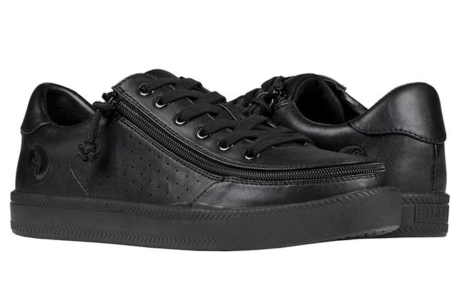 Men's Black to the Floor Faux Leather BILLY Sneaker Low
