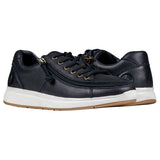 Mens Black Leather Billy Comfort Lows - Wide EEE fit