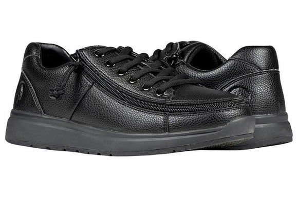 Men's Billy Black to the Floor Work Comfort Lows - Wide (EEE)