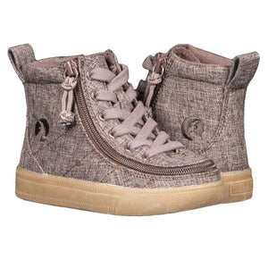 Toddler Brown Jersey BILLY Classic Lace High