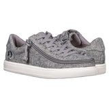 Women's Charcoal Jersey BILLY Classic Lace Low
