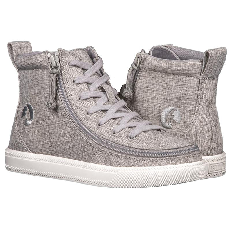Women's Grey Jersey BILLY Classic Lace High