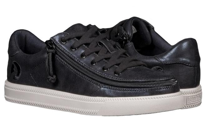 Women's Black Shine BILLY Classic Lace Low