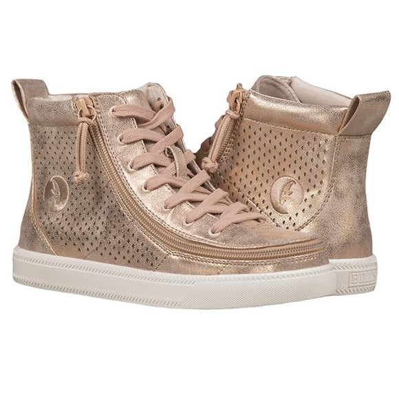 PRE ORDER Women's Rose gold shine BILLY Classic Lace High