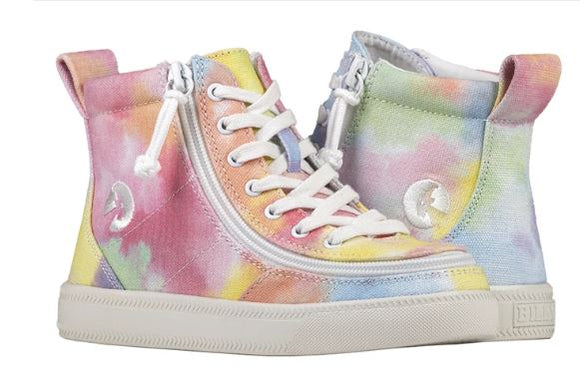 Kids Sherbert Tie Dye Billy High Top