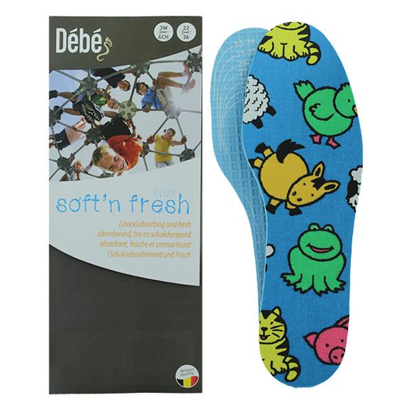 Kids Soft n Fresh Patterned Insoles