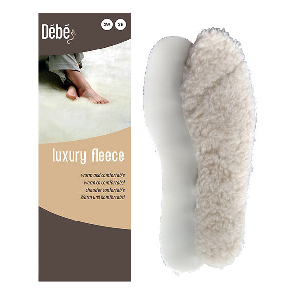 DEBE Luxury Fleece Wool Insole