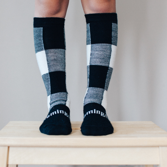 Lamington Merino knee high socks - Jumbo