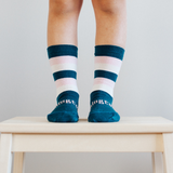 Lamington Merino Crew socks - Lily