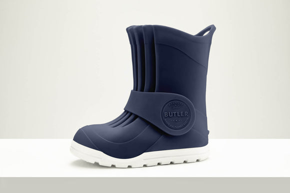 Butler Macaroni tall all weather boot - Navy Blue (limited stock)