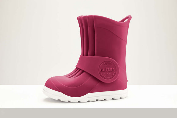 Butler Macaroni tall all weather boot - Bubble Gum Pink