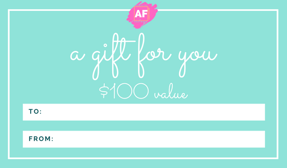 Adaptive Footwear Gift Card