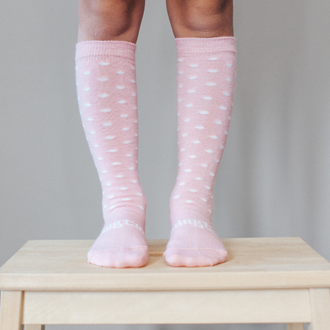 Lamington Merino knee high socks - Wish