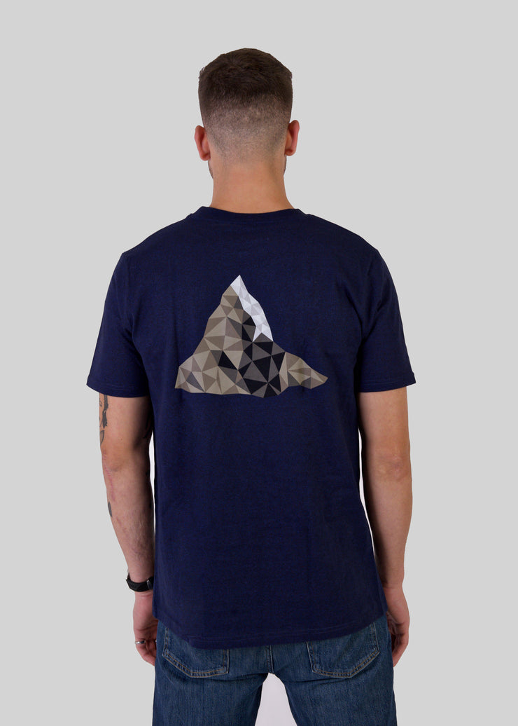 Men's MOUNTAIN T-Shirt-SWAN