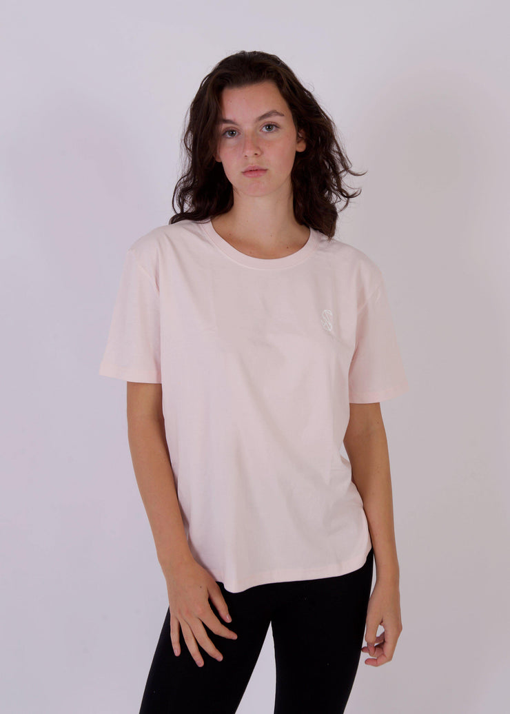Women's PENGUIN Boxy T-Shirt-SWAN