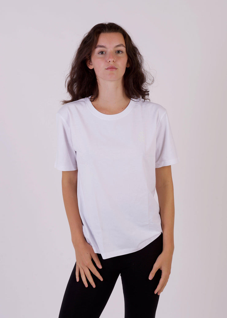 Women's SHADOW Boxy T-Shirt-SWAN