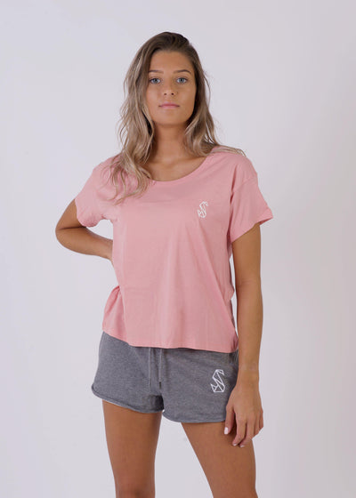 Women's SWAN Relaxed T-Shirt-SWAN
