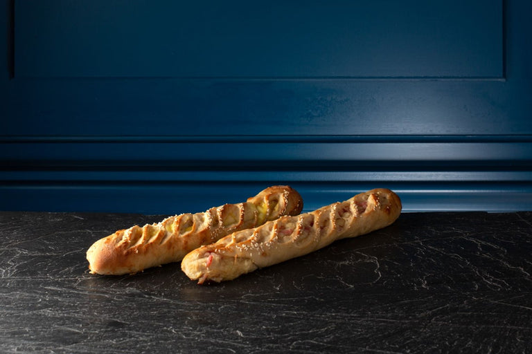 Baguettes Apéritives Lardon Emmental - lot de 2