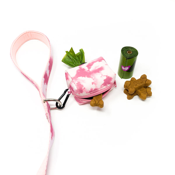 Poop bag holder - Blush Pink