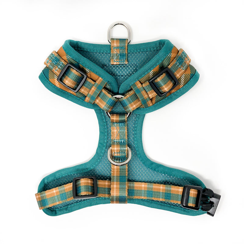 Control Dog Harness - Cozy Plaid