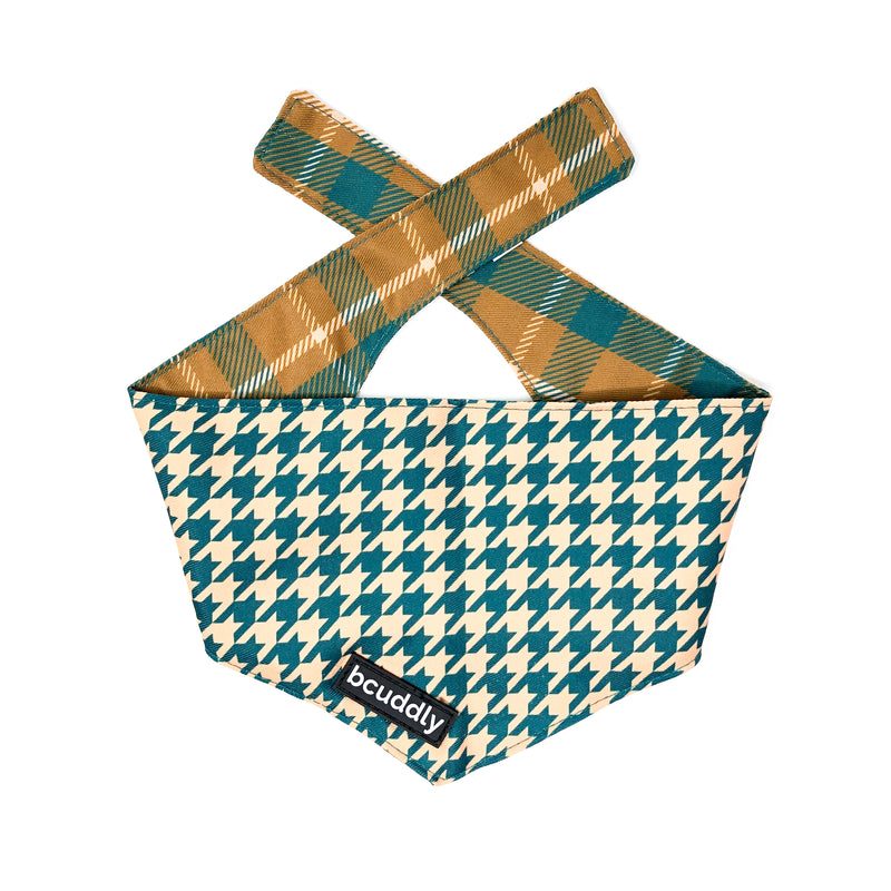 Dog bandana - Cozy Plaid