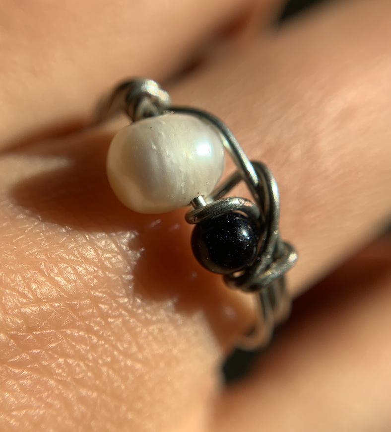 River Pearl Ring