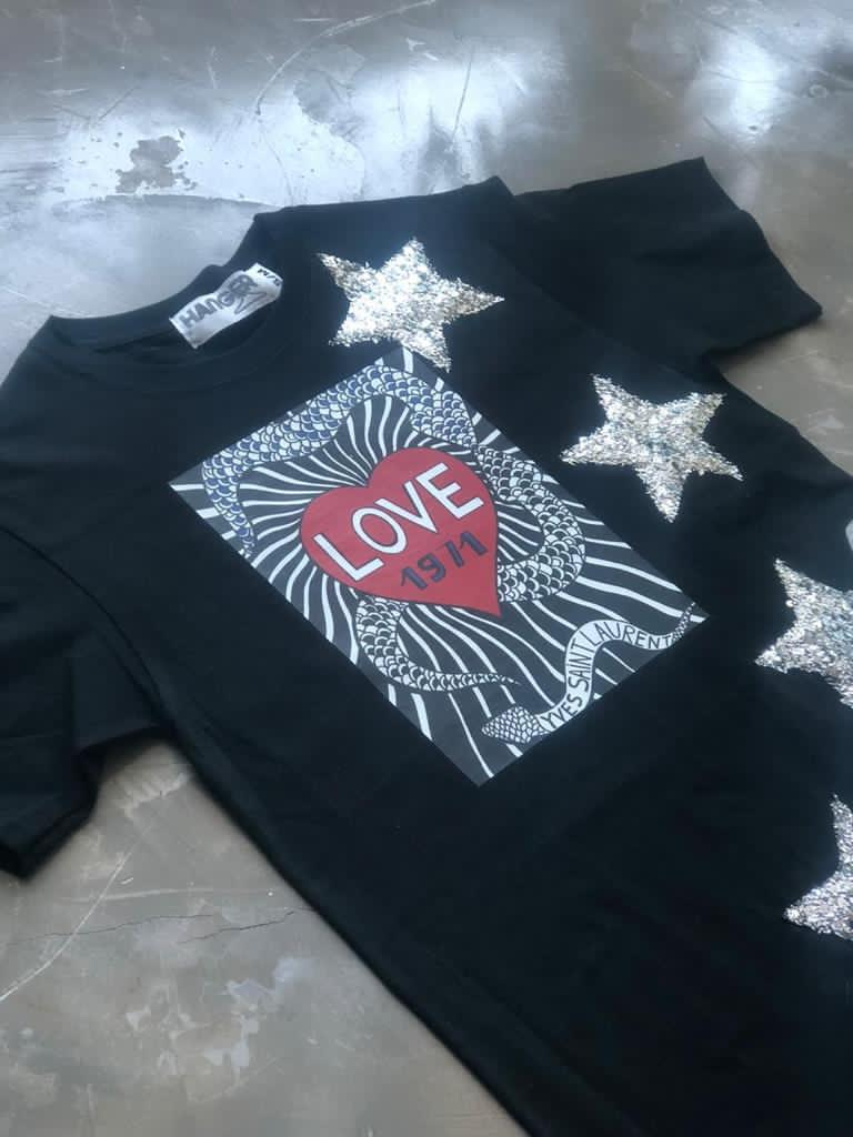 Alternative Love Glitter Stars Shirt