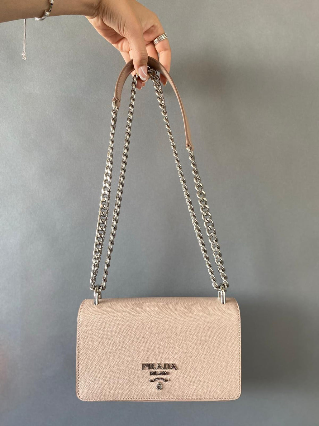 PRADA PATTINA CROSSBODY