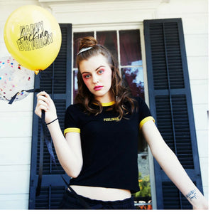 Happy fucking birthday badass balloons