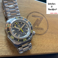 Zelos HAMMERHEAD 2 1000M STEEL 'FORGED CARBON' SEIKO NH35