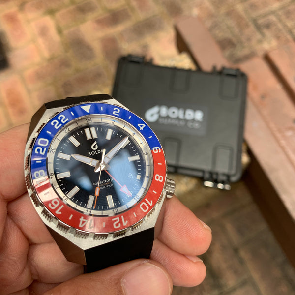 Boldr Globetrotter GMT Red Blue (PEPSI)