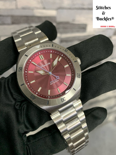 Reverie Diver Guilloché Burgundy