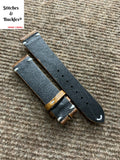 20/18mm Vintage Brown Calf Leather Strap