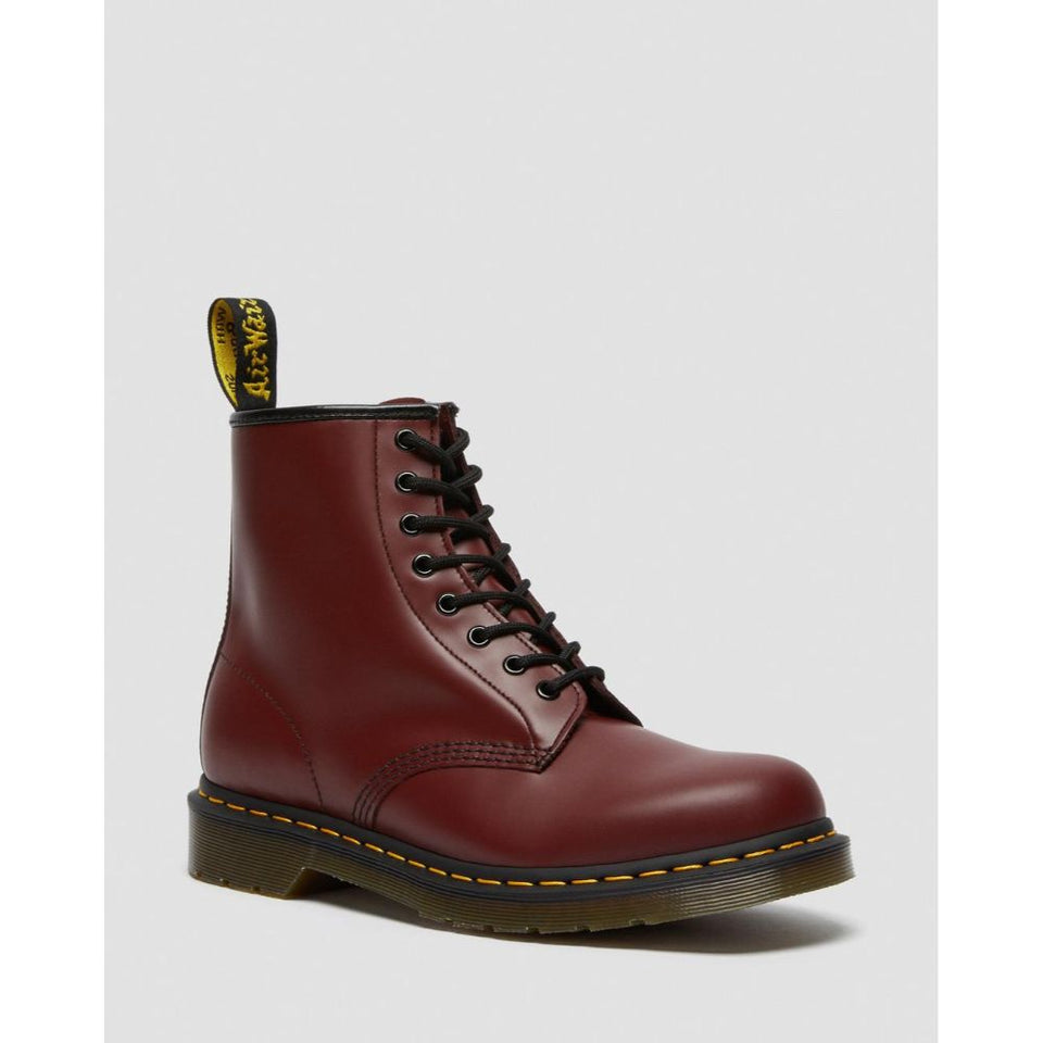 Dr Martens Donna Smooth Cherry Red