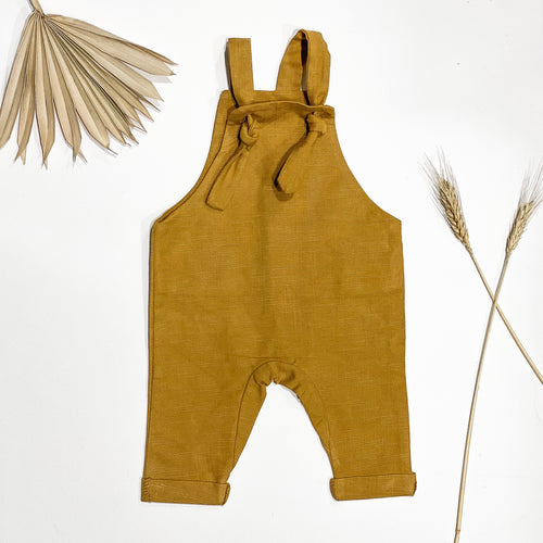 Slouch overalls - Mustard seed