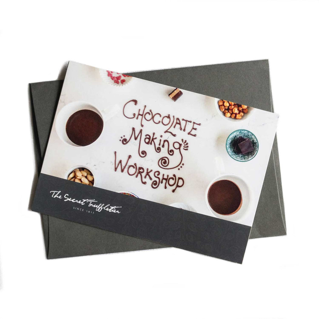 Gift card - Chocolate Making Workshop (up to 5 people)