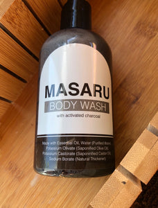Masaru Body Wash w- activated charcoal( Just 4 Him)
