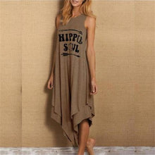 Afbeelding in Gallery-weergave laden, Hippie Soul Sleeveless Jurk