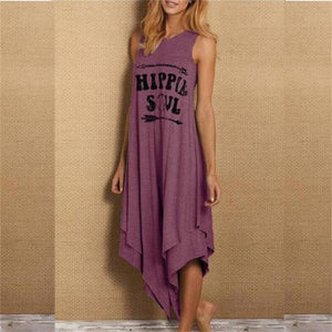 Hippie Soul Sleeveless Jurk