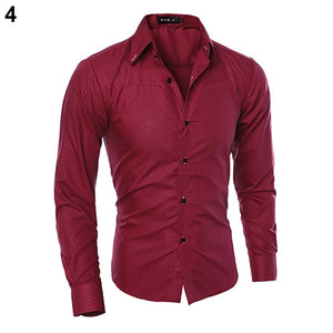 Archer - Luxe Heren Shirt Comfort Slim Fit